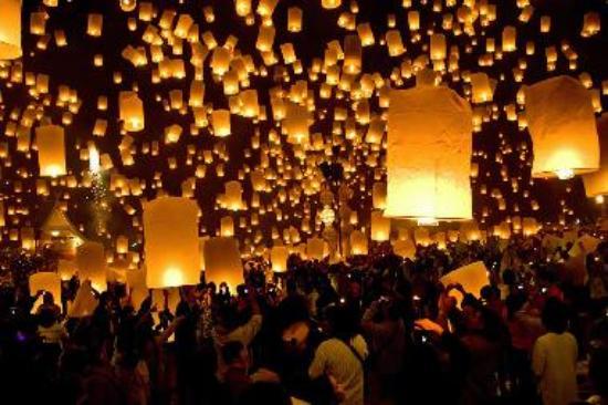 лой кратонг фестивал Тайланд