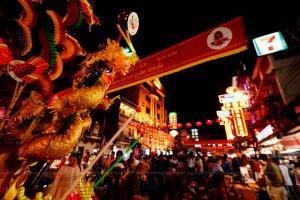 Chinese New Year, Yawarat, Bangkok, Thailand